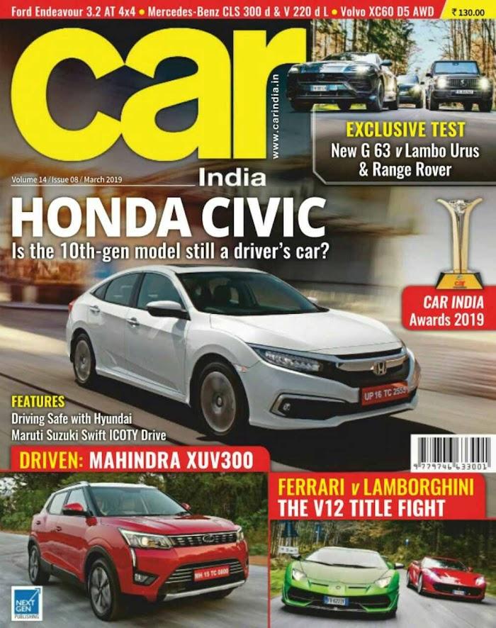 Car India Magazine March 2019 PDF Download