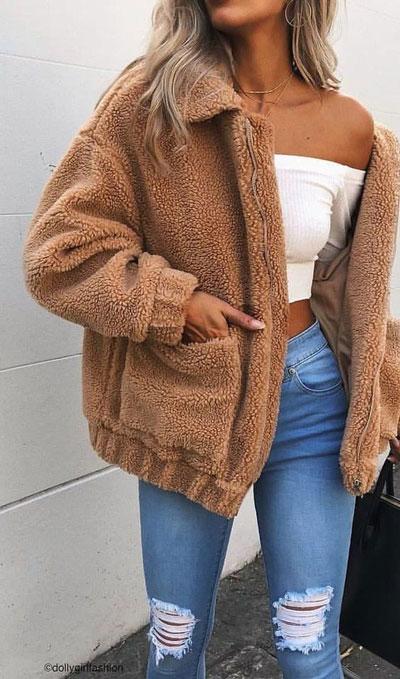 24 Cute Fall Outfits You Should Already Own. Fall Style & Fashion for Women via higiggle.com | cute casual outfits | #cuteoutfits #falloutfits #fashion #cardigan