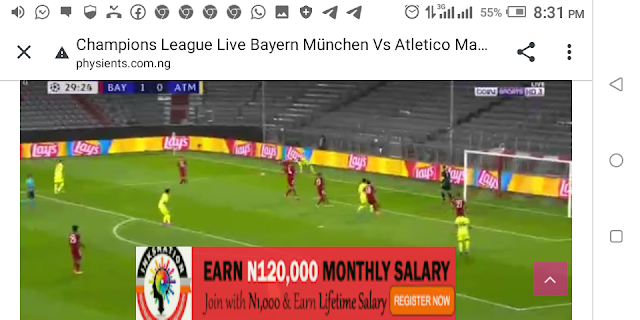⚽⚽⚽⚽ Champions League Bayern München Vs Atletico Madrid ⚽⚽⚽⚽
