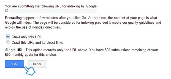 Cara Artikel Terindex Google Dengan Cepat