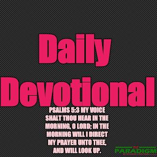 Today's Devotion  Sat  [ TAKING TERRITORIES ]