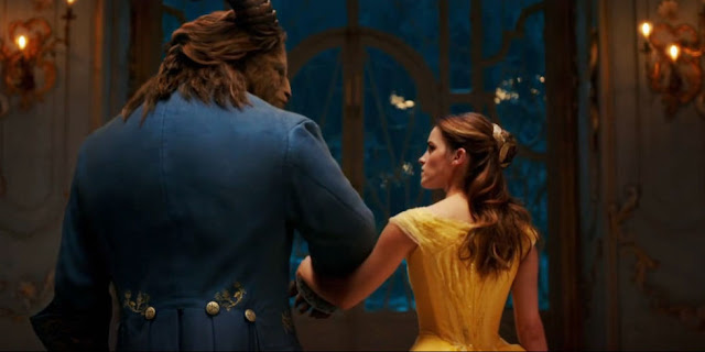 Beauty and the Beast, starring Emma Watson and Dan Stevens