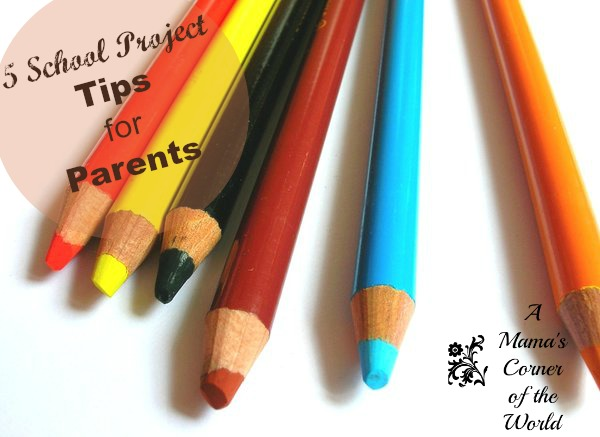 5 School Project Tips for Parents