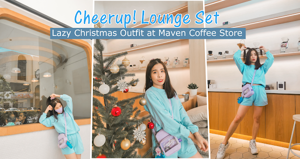 Cheerup! Lounge Set | Lazy Christmas Outfit at Maven Coffee Store