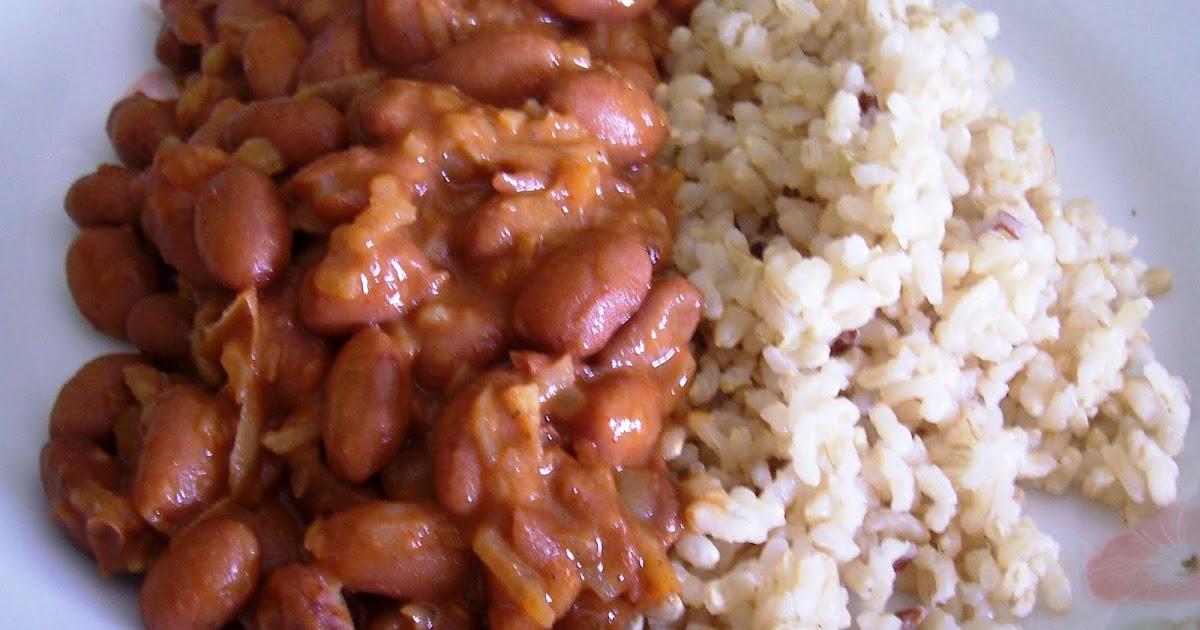Jud as pintas con arroz asopaipas recetas de cocina casera - Arroz con judias pintas ...