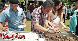 catering kambing guling di villa lemon lembang