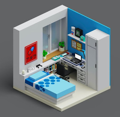 Voxel Art of the Month - August