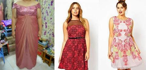 model baju kebaya gaun orang gemuk
