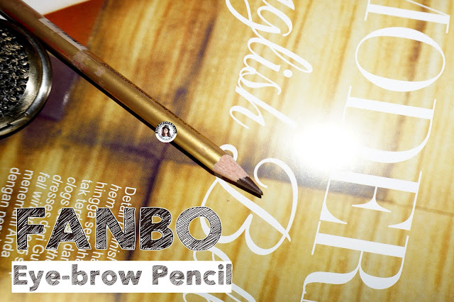 Fanbo+Gold+EyeBrow+Pencil+Brown