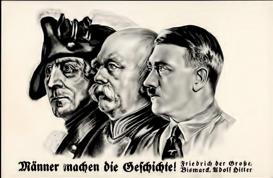 Wotan the wandering jew and his untergang think classical a national socialist propaganda poster misrepresents history as being shaped by the triumph of the will of the great man fandeluxe Gallery