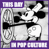 "Mickey Mouse was ""born"" on November 18, 1928."