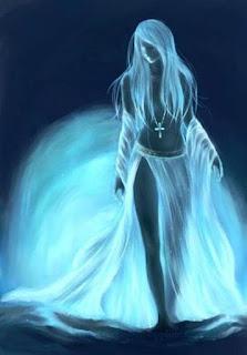 Blue Woman Light Intalnire In Pleiade
