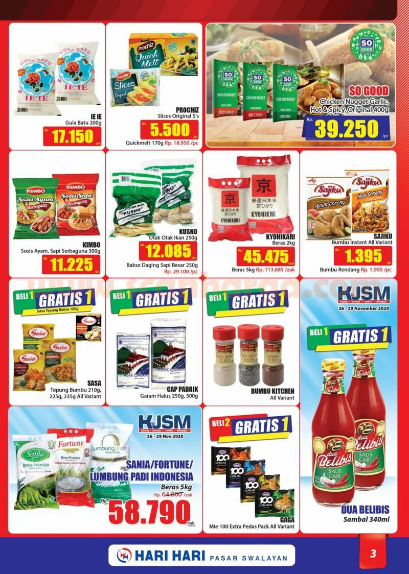 Katalog Promo Hari Hari Pasar Swalayan 26 November - 9 Desember 2020 3