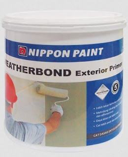 harga cat nippon paint weatherbond