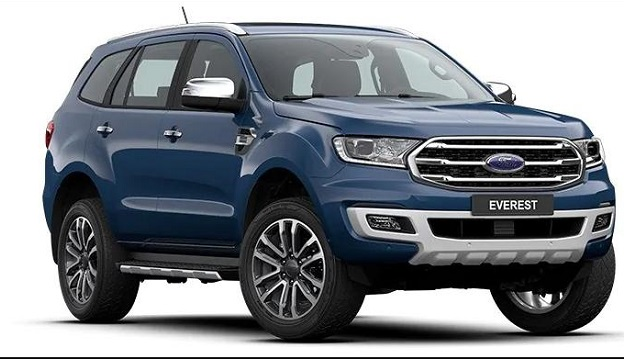Ford Everest 2021 Xanh, mới 99%