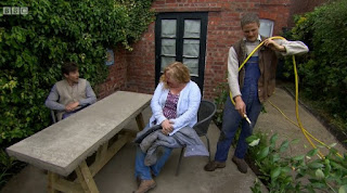 Charlie Dimmock and The Rich Brothers