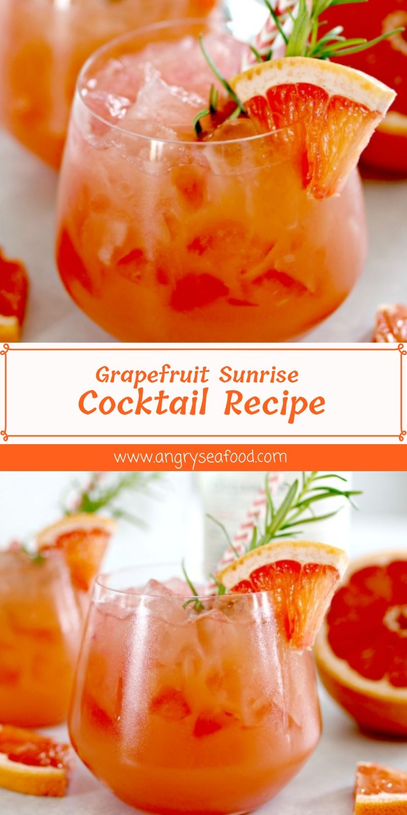 Grapefruit Sunrise Cocktail Recipe