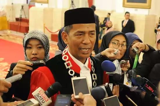 Saldi Isra Hakim MK baru