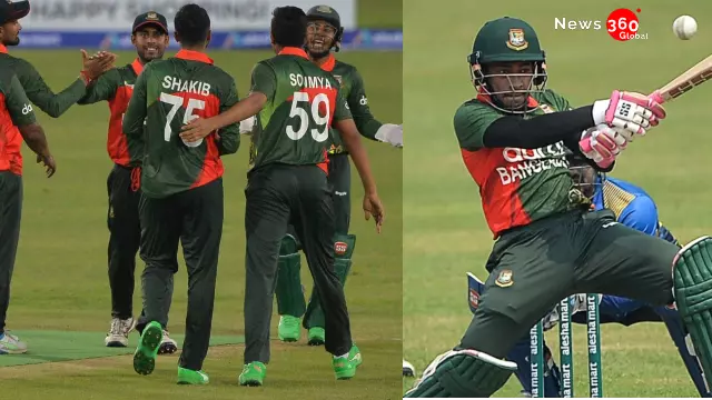 Bangladesh vs Sri Lanka, Sri Lanka Chased a target of 258 runs, Bangladesh won there first ODI by 33 runs