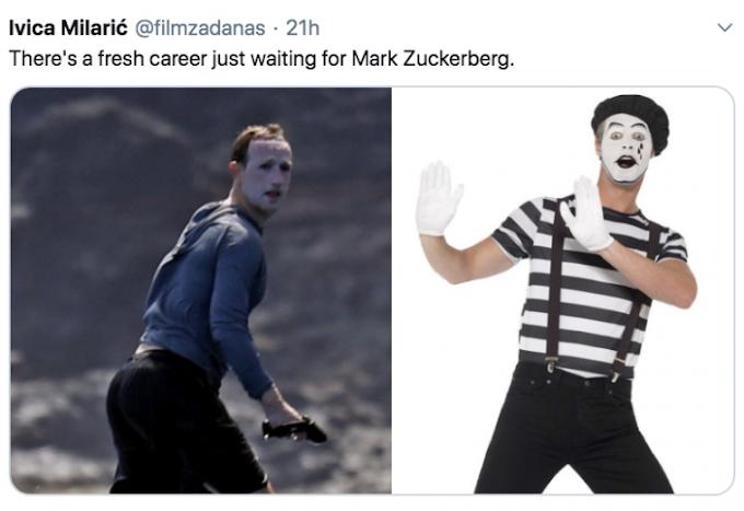 Facebook CEO Mark Zuckerberg - Plenty of Sunscreen - Internet Latest Memes