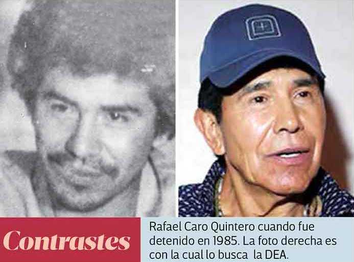 En caso de ser detenido, Caro Quintero será enviado de inmediato a Estados Unidos