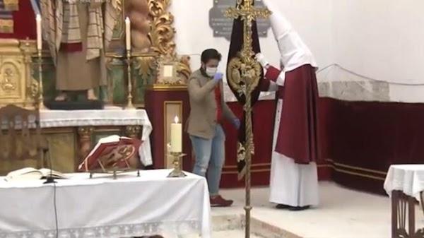 Denunciadas varias personas en Puente Genil por asistir a la misa del Lunes Santo