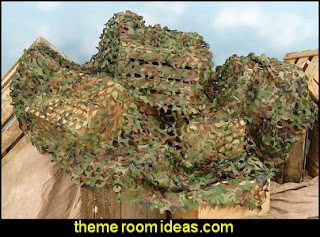 Warrior tactical Camo netting - Military Tarps Army Theme bedrooms - Military bedrooms camouflage decorating  - Army Room Decor - Marines decor boys army rooms - Airforce Rooms - camo themed rooms - Uncle Sam Military home decor - military aircraft bedroom decorating ideas - boys army bedroom ideas - Military Soldier - Navy themed decorating