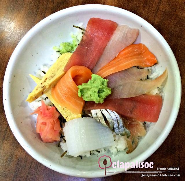Nihonbashi Tei Makati Chirashi Don