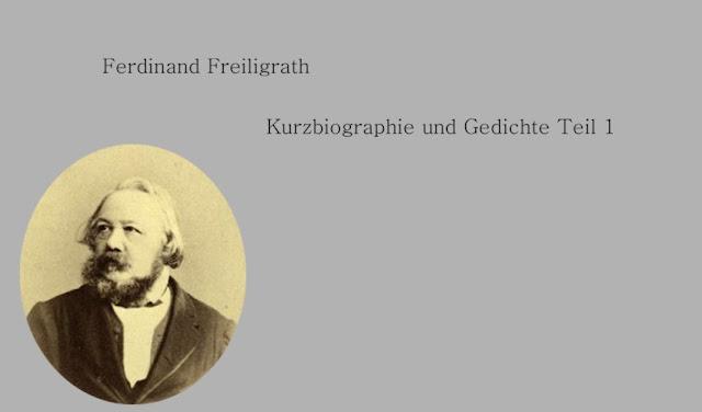 Ferdinand Freiligrath-Gedichte