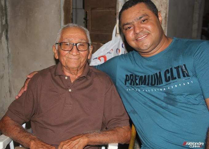 Pedido de oração para o amigo, Sr. Correinha da Mangabeira, ele sofreu um AVC