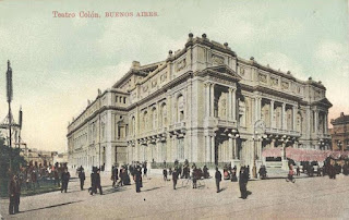 Teatro Colón in 1908