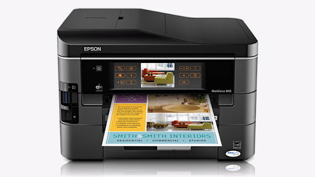 epson workforce 845 driver