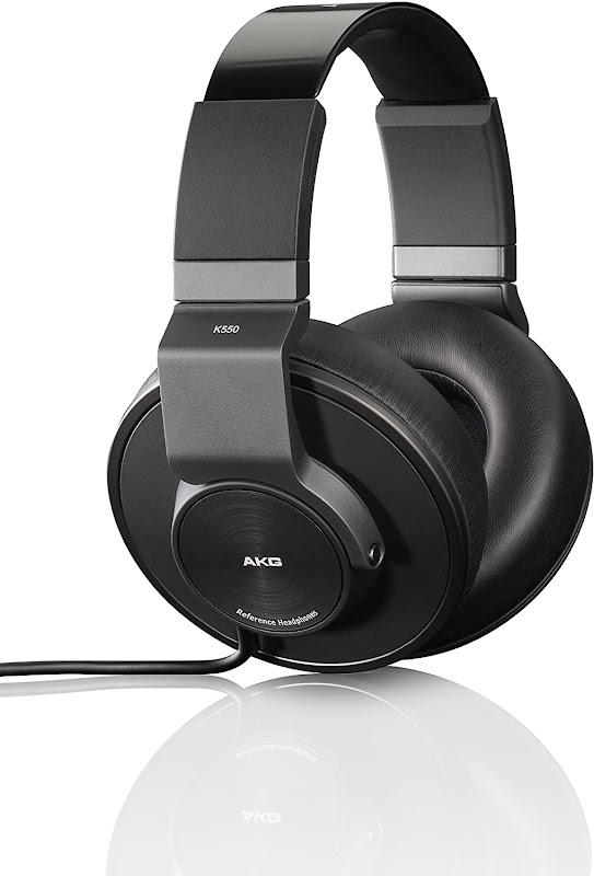 Front view of AKG K550 Headsets