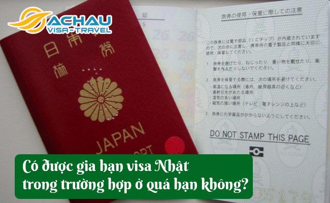 co duoc gia han them visa nhat trong truong hop o qua han khong