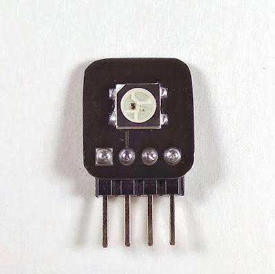 Индикатор точки на светодиоде WS2812