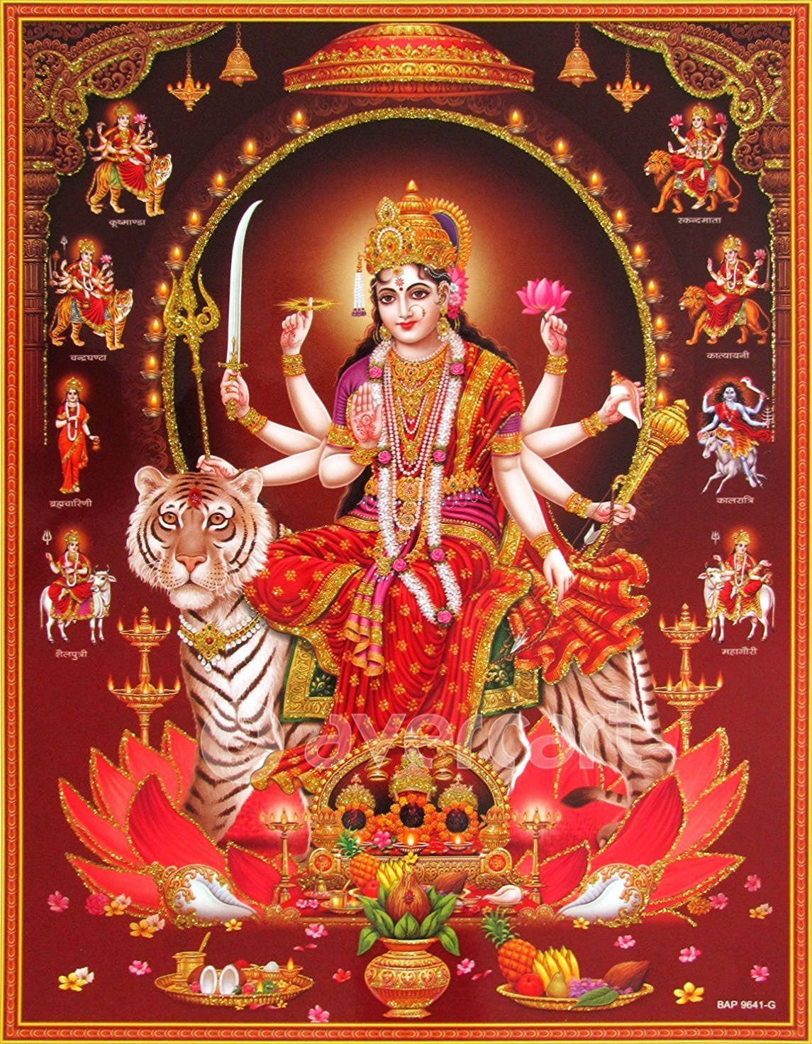 280 Maa Durga Hd Images Devi Wallpapers 2020 Full Size Photos म द र ग क फ ट Good Morning Images 2020
