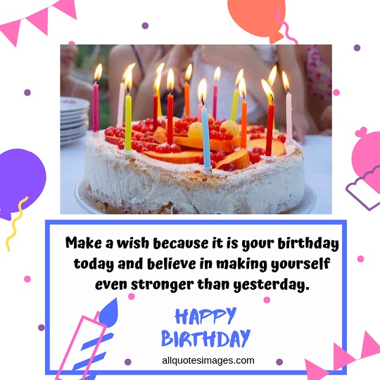 Birthday Cake Images With Quotes