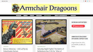 The Armchair Dragoons Website - Well Worth a Visit