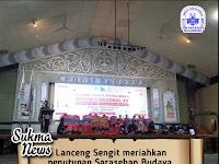 Lanceng Sengit Meriahkan Penutupan Sarasehan Budaya, Festival Media & Kongres Nasional XV PPMI