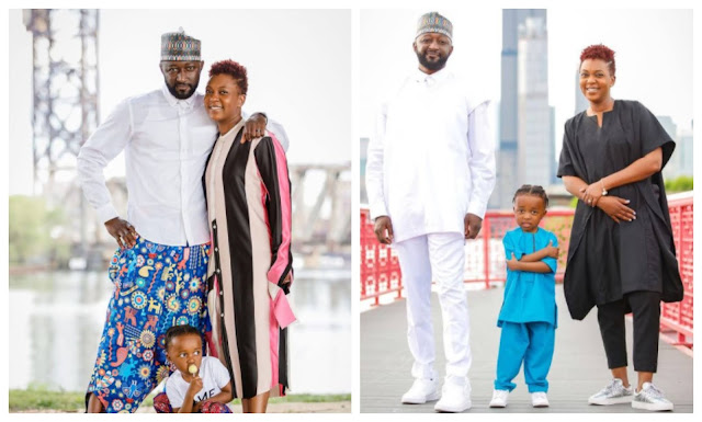 You have given me everything- Former BBNaija winner, Katung Aduwak says as he celebrates his 8th wedding anniversary with his wife
