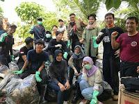 Salut dengan Kepedulian Komunitas Lampung Sweeping Community yang Peduli Lingkungan di Lampung