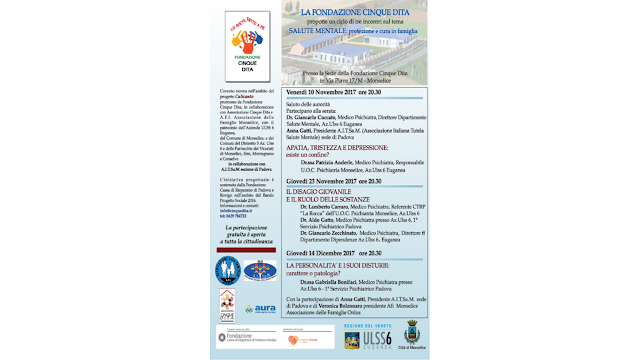 Conferenza della dott.ssa Gabriella Bonifaci presso la fondazione Cinquedita, Via Piave 17/M, Monselice