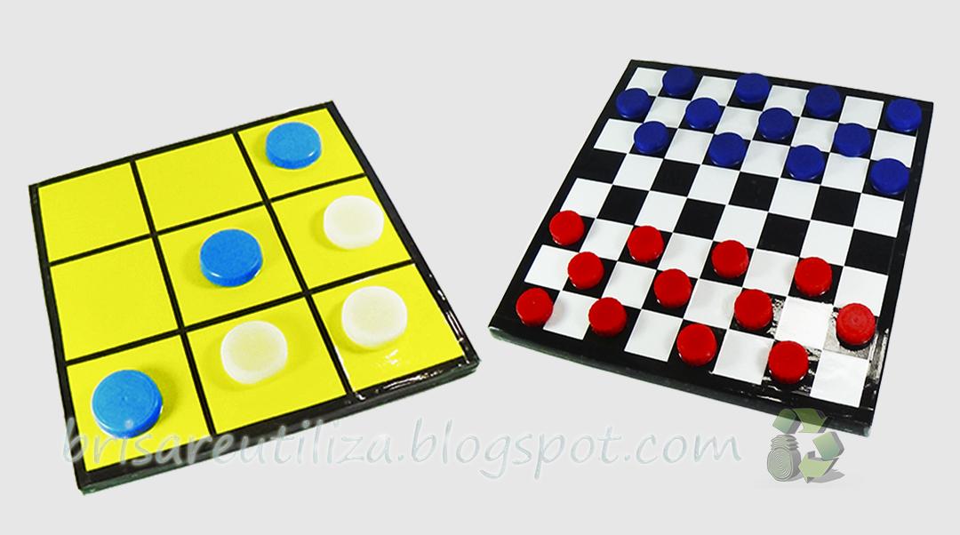 Ecobrisa Manualidades Diy Juegos De Mesa 2 En 1