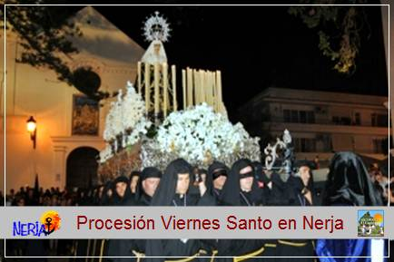El Viernes Santo Procesión del Santo Entierro y Mª Stma. De los Dolores