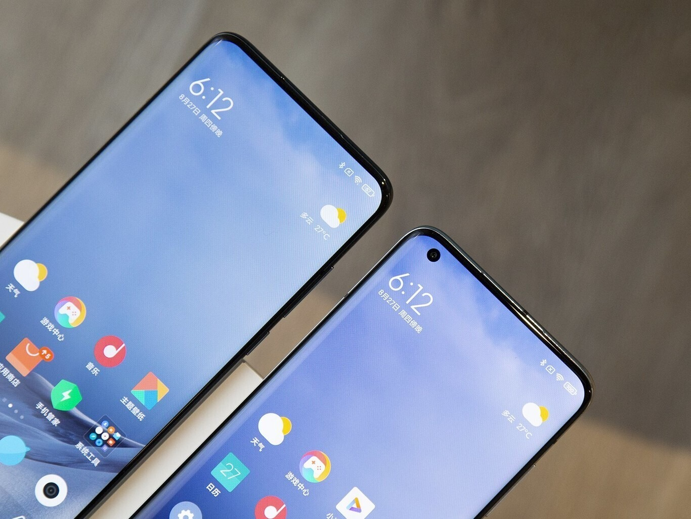 """Xiaomi Mi MIX 4: se filtra la primera imagen que muestra su pantalla con cámara """"invisible"""", oculta debajo del panel"""
