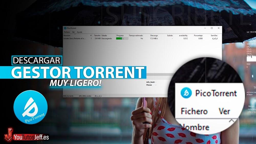 Alternativa a uTorrent, Descargar PicoTorrent Ultima Versión