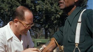 Recogida de muestras del Experimento Tuskegee