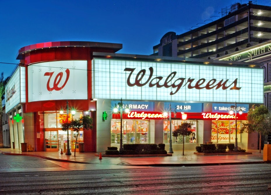 Farmácias Walgreens em Las Vegas