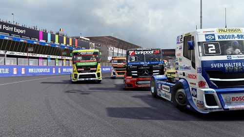 FIA European Truck Racing Championship Gameplay