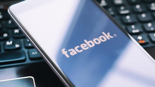 How does Facebook promote business development online?